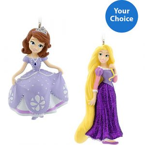 Hallmark Disney Princess Ornaments- Select 2