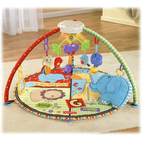 Fisher price musical play mat price rainforest musical - Tapis d eveil fisher price zoo deluxe ...
