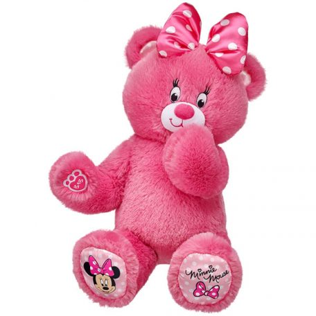16 in. Minnie Mouse Themed Bear