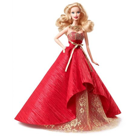 Barbie 2014 Holiday Blonde Doll