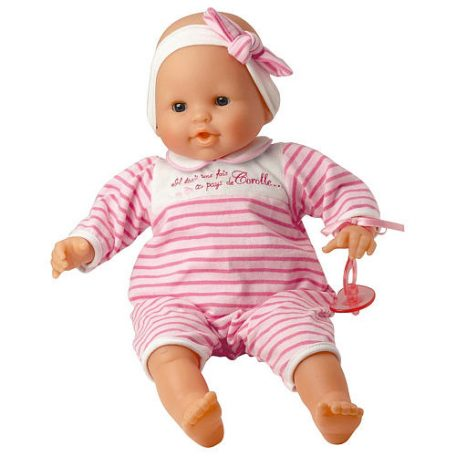 Corolle 14 inch Mon Bebe Classique – Pink Baby Doll