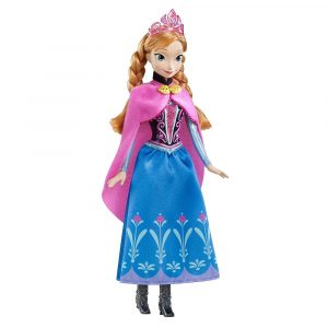 Disney Frozen Sparkle Anna Doll from the Disney Movie Frozen
