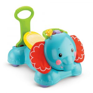 Fisher Price Bounce Stride Ride Elephant