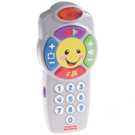 Fisher Price Kids Laugh & Learn Clickn Learn Remote Toy