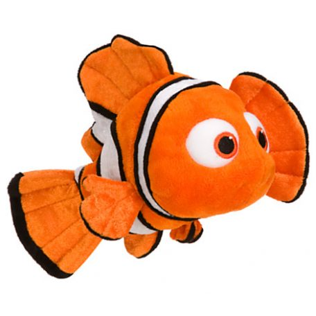 Nemo Plush Finding Nemo Mini Bean Bag