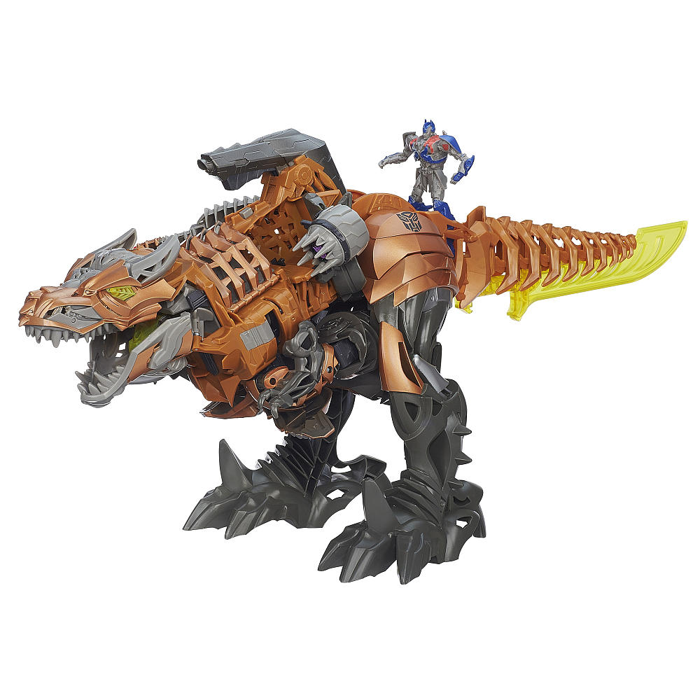 Transformers age of extinction chomp and stomp grimlock - Dinosaure transformers ...