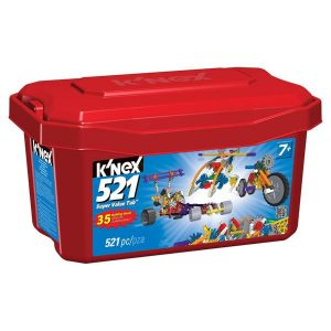 K'NEX 521 SUPER VALUE TUB