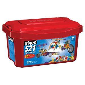 K'NEX 521 SUPER VALUE TUB
