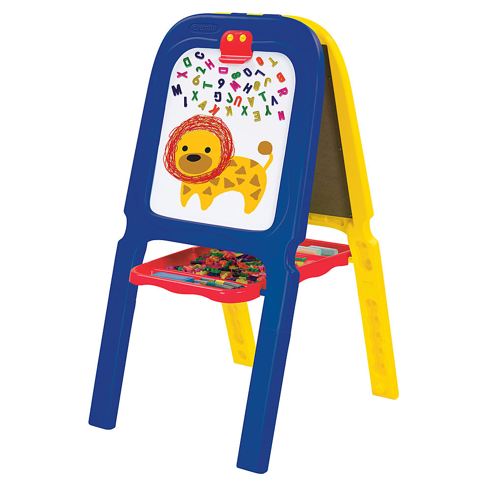 crayola 3 in 1 double easel with magnetic letters crayola crayola 3 in 1 easel stop shop 21223 | Crayola CRAYOLA 3 in 1 Double Easel