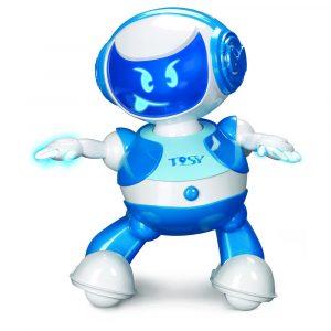 DiscoRobo Dancing Robot Blue