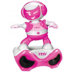 DiscoRobo Special Set Dancing Robot & MP3 Player Pink