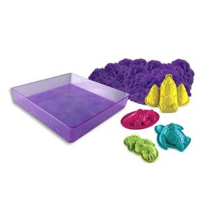 Kinetic Sand Wacky-tivities Kinetic Sand Sandbox and Molds