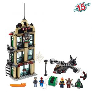 LEGO Super Heroes Spider Man Daily Bugle Showdown