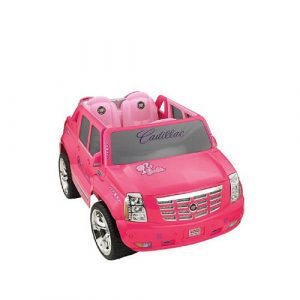 Power Wheels Fisher-Price Barbie Cadillac Hybrid Escalade EXT Ride-On